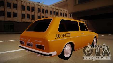 VW Variant 1972 for GTA San Andreas right view