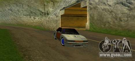 Nissan Silvia S13 MGDT for GTA San Andreas side view