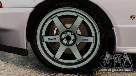 Nissan Skyline GT-R (R32) for GTA 4 back view