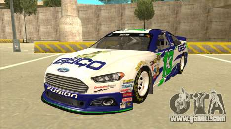 Ford Fusion NASCAR No. 13 GEICO for GTA San Andreas