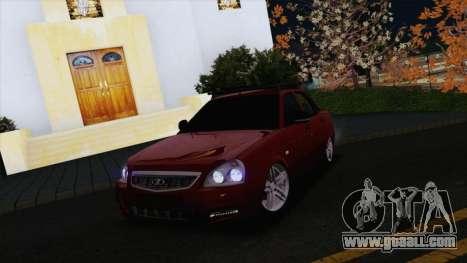 VAZ Lada Priora 2170 for GTA San Andreas