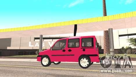 Fiat Doblo for GTA San Andreas right view