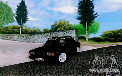 VAZ 2107 Riva for GTA San Andreas right view