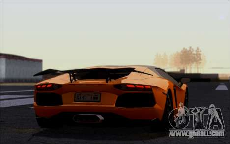 Lamborghini Aventador LP760-2 EU Plate for GTA San Andreas left view