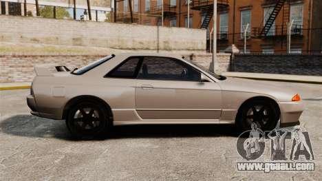 Nissan Skyline GT-R (R32) for GTA 4 left view