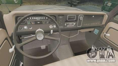 Chevrolet C-10 Stepside v1 for GTA 4 inner view