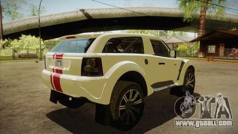 Bowler EXR S 2012 HQLM for GTA San Andreas right view