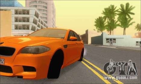 BMW M5 Vossen for GTA San Andreas side view