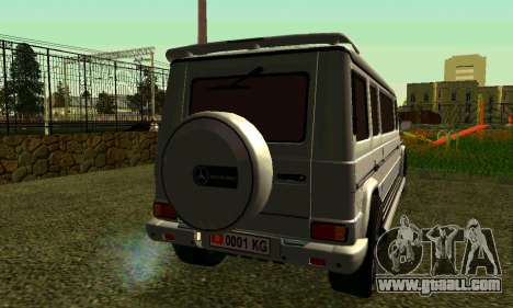 Mercedes-Benz G500 Limo for GTA San Andreas back left view