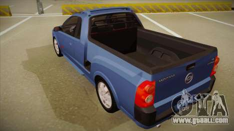 Chevrolet Montana Sport 2008 for GTA San Andreas back view