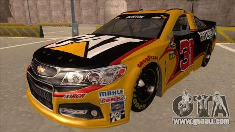 Chevrolet SS NASCAR No. 31 Caterpillar for GTA San Andreas