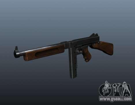 M1a1 Thompson submachine gun v2 for GTA 4