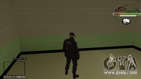 SAPD Pak skins for GTA San Andreas second screenshot