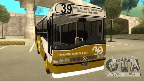 Mercedes-Benz OHL-1320 Linea 39 for GTA San Andreas left view
