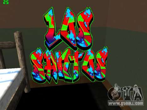 Graffity mod for GTA San Andreas third screenshot