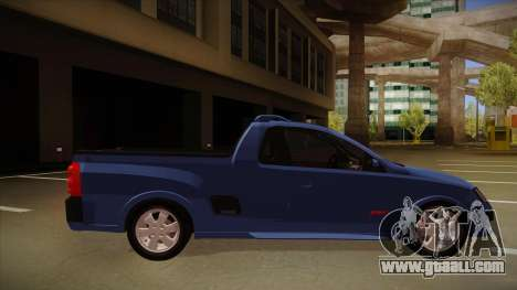 Chevrolet Montana Sport 2008 for GTA San Andreas back left view