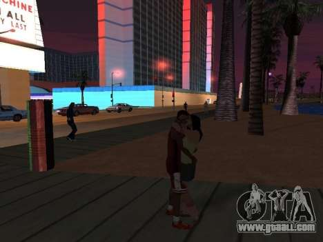 Street Love V3.0 for GTA San Andreas