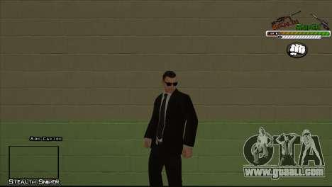 SAPD Pak skins for GTA San Andreas eighth screenshot