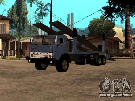 KAMAZ Truck 43085 for GTA San Andreas