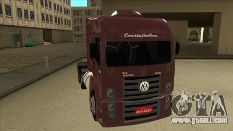 Volkswagen Constellation 25.370 Tractor for GTA San Andreas left view