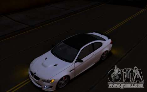 BMW M3 Hamann for GTA San Andreas left view