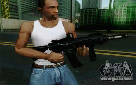 MK107 PDW for GTA San Andreas forth screenshot