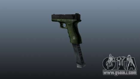 Glock 18 Akimbo MW2 v3 for GTA 4 second screenshot