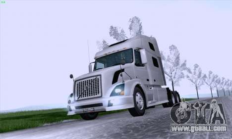 Volvo VNL 780 for GTA San Andreas