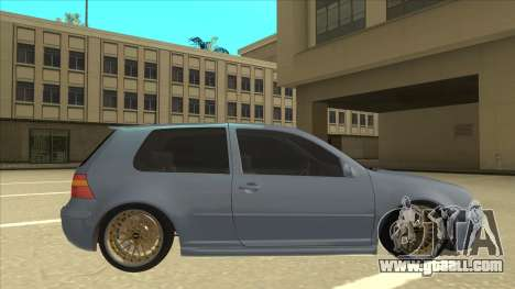 Volkswagen Golf MK4 Gti Eurolook for GTA San Andreas back left view