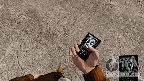 Themes for phone brands clothing for GTA 4 second screenshot