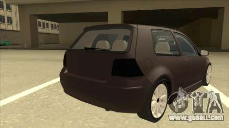 VW Golf 4 Tuned for GTA San Andreas right view