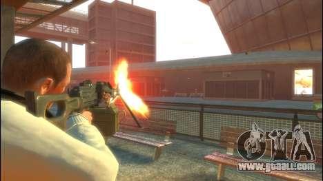 PKP Pecheneg Machine Gun for GTA 4 second screenshot