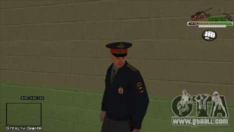 SAPD Pak skins for GTA San Andreas ninth screenshot