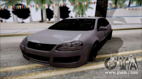 Volkswagen Golf GTI for GTA San Andreas