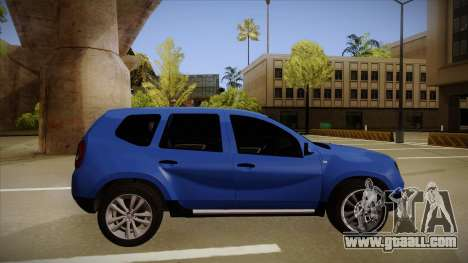 Dacia Duster SUV 4x4 for GTA San Andreas back left view