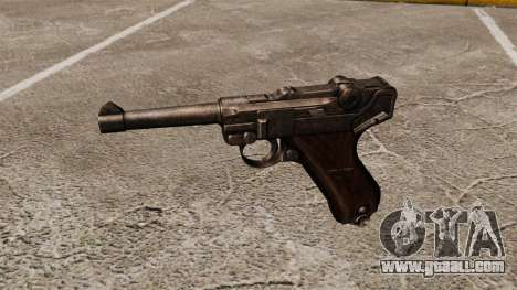 Pistol Parabellum v1 for GTA 4 third screenshot