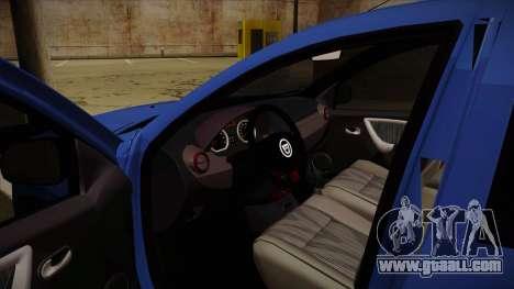 Dacia Duster SUV 4x4 for GTA San Andreas inner view
