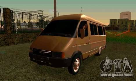 Gazelle Tuning for GTA San Andreas