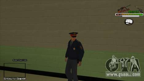 SAPD Pak skins for GTA San Andreas forth screenshot