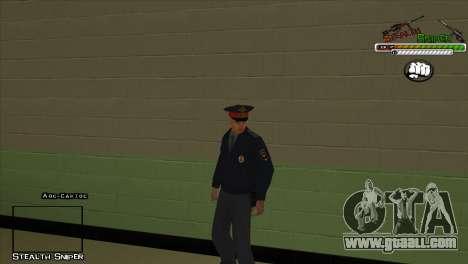 SAPD Pak skins for GTA San Andreas forth screenshot