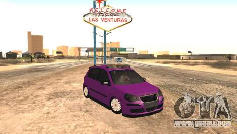 Volkswagen German Polo for GTA San Andreas