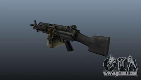 The M249 light machine gun for GTA 4 second screenshot