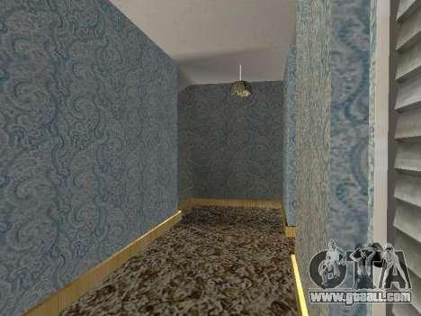 New interior 2-storeyed building CJ for GTA San Andreas tenth screenshot