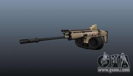 FN SCAR-H Machine Gun LMG for GTA 4