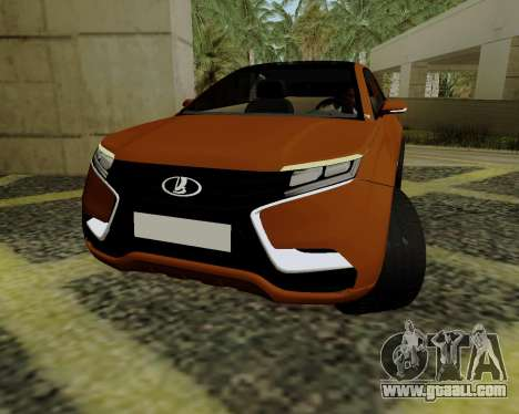 Lada X-RAY for GTA San Andreas