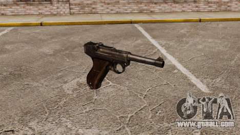 Pistol Parabellum v1 for GTA 4