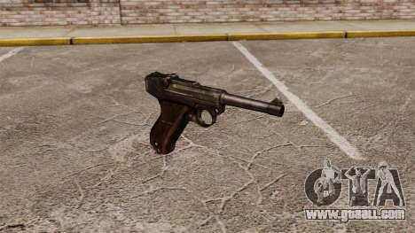 Pistol Parabellum v1 for GTA 4