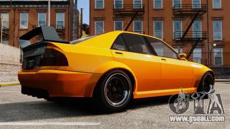 Sultan RS sedan for GTA 4 left view