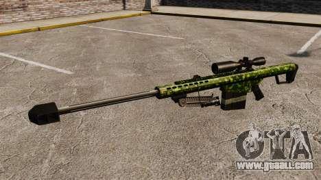 The Barrett M82 sniper rifle v4 for GTA 4 third screenshot