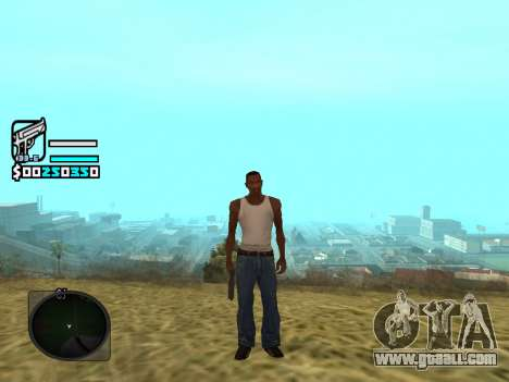 Hud by Larry for GTA San Andreas
